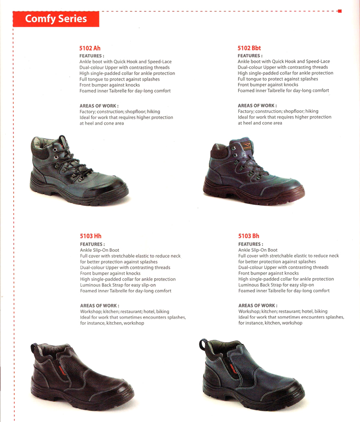 Cheetah - Polyurethane Safety Shoes